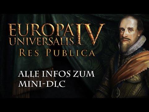 Europa Universalis 4: Res Publica - Die Features im Detail