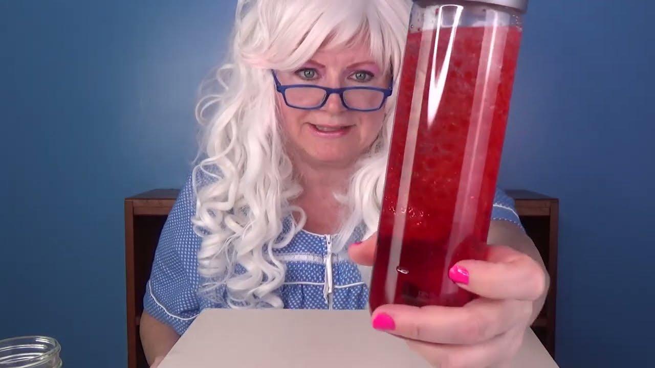 Glitter Bottle Toy Lava Nemo Tornado with Granny McDonald