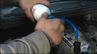 How to Recharge an Auto A/C System : Charging a Car