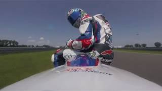Troy Corser onboard the HP4 Race on the Slovakia Ring