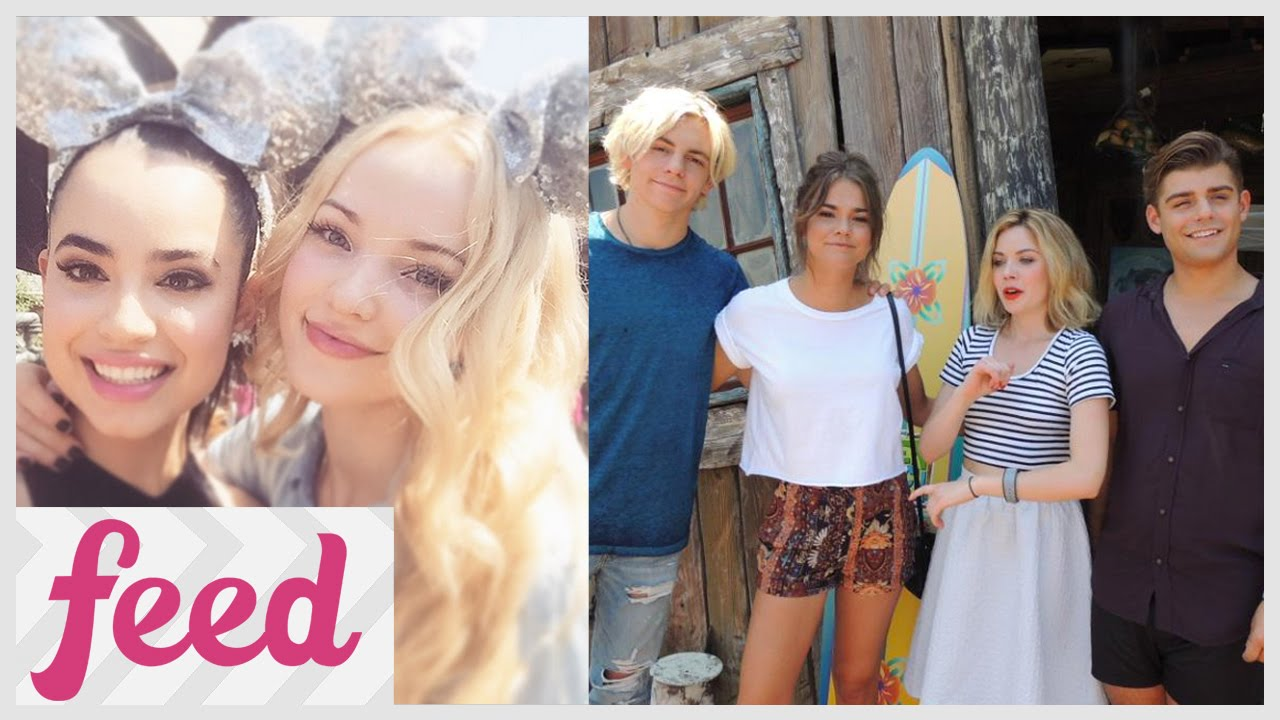dove cameron ross lynch and more celebrate disney 24