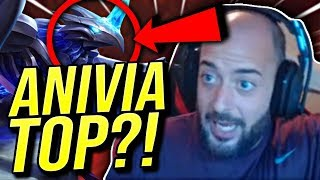 HOW DO I WIN AGAINST THIS CHAMP IN TOP LANE?! ANIVIA TOP?! - Road To Challenger | League of Legends