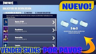 HOW TO SELL SKINS FOR PAVOS TUTORIAL*AVAILABLE*FORTNITE BATTLE ROYALE