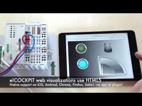 WAGO e!COCKPIT with HTML5 Web visualizations