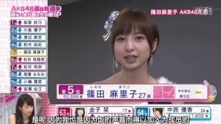710Hz字幕】130608 AKB48総選挙完結楽屋前田敦子篠田麻裏子.