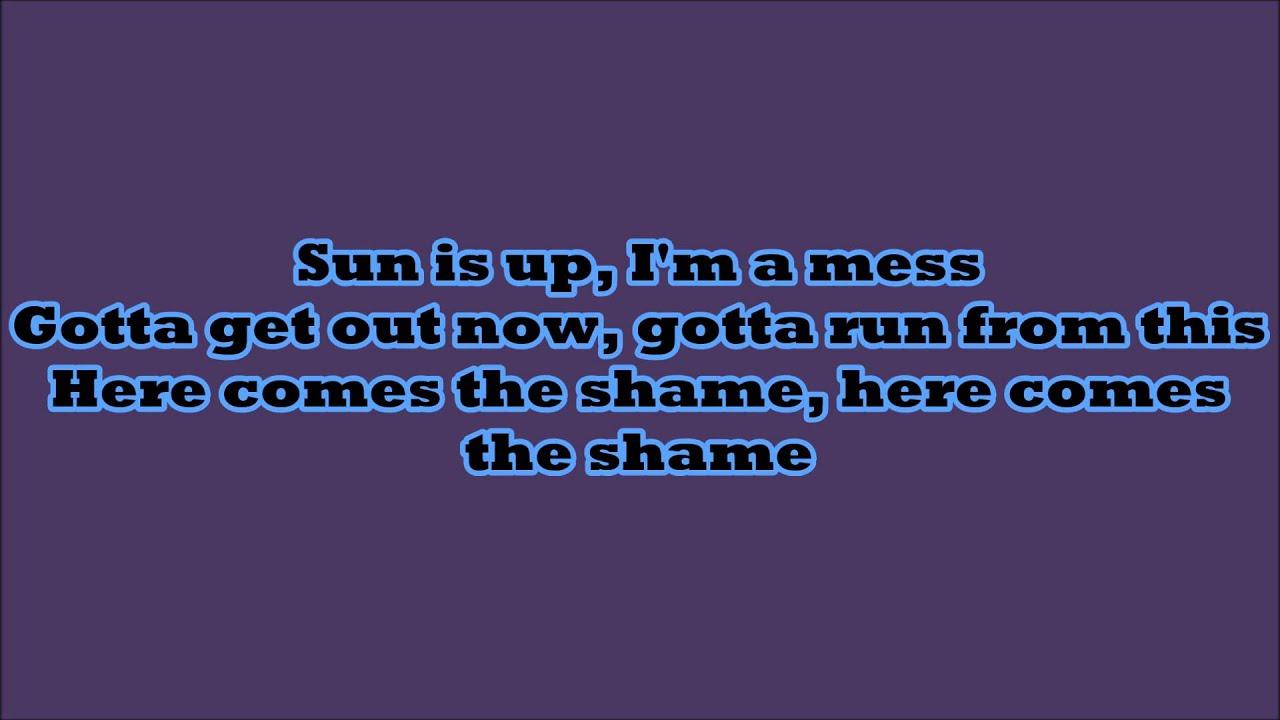 Sia - Chandelier Male Instrumental + Lyrics on Screen - YouTube