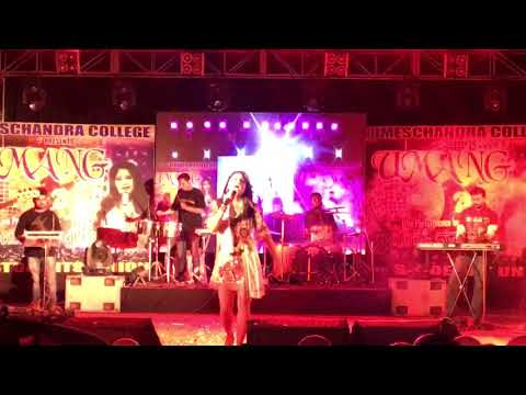 Jugni ji | Jyotica Tangri Live at Umes Chandra College Social | L R Productions