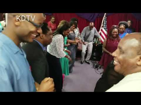 Ambassador njeru githae in Kenyan Church Birmingham
