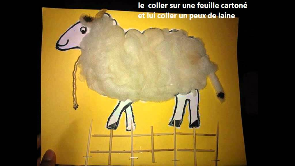 tuto travaux maternelle r alise un mouton pour l 39 aide al adha youtube. Black Bedroom Furniture Sets. Home Design Ideas