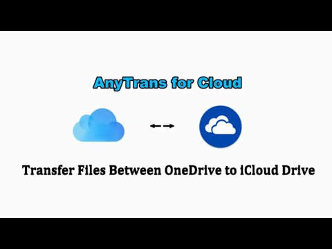 How To Transfer Files Between ICloud Drive And OneDrive
