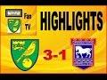 Norwich City vs Ipswich Town | Play-offs 2nd leg | Fan Highlights