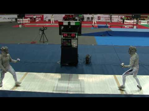 20100214 ws gp Moscow 64 blue GREGORIO Rossella ITA 9 vs MARY Solenne FRA 15 sd No