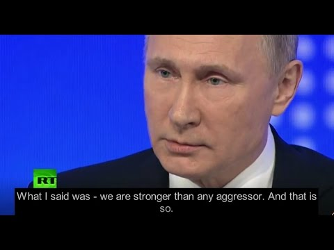 Putin schools Wall Street Journal -