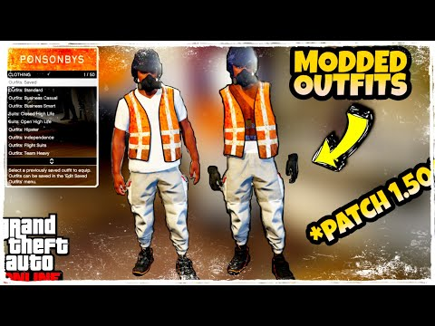 GTA 5 How To Get White Gorka Joggers And Trash Man Vest Modded Outfit (GTA 5 Clothing Glitches 1.50)