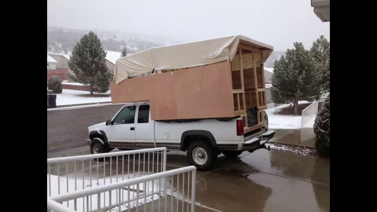 homemade truck camper youtube - Home Built Truck Camper Plans