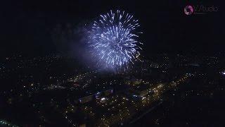 Салют на 9 мая 2017. Сергиев Посад