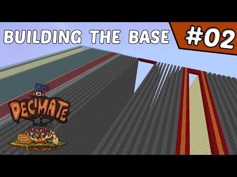 Starting to work on the Base!! | DecimatePvP #2 (Minecraft Factions)
