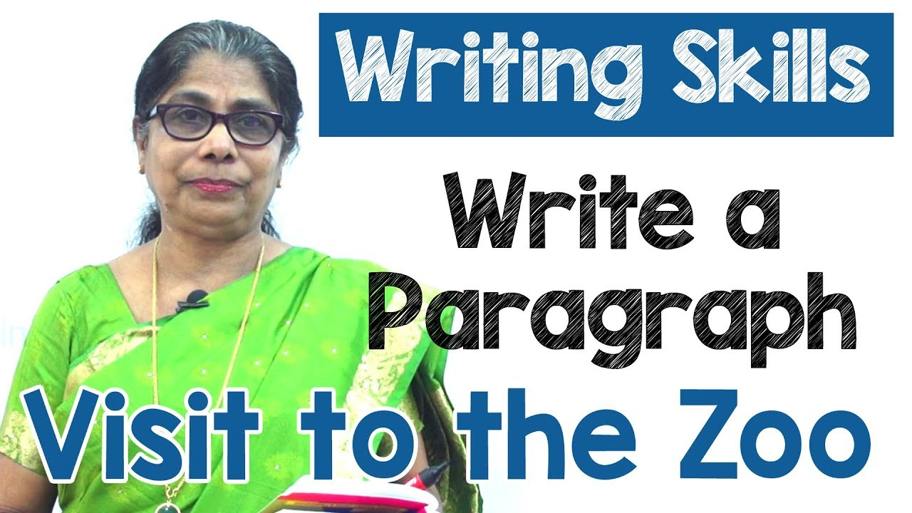 How to Write a Paragraph about Visit to the Zoo in English | Composition  Writing | Reading Skills