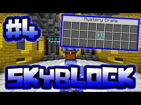 LUCKIEST SKY KEY WIN EVER!! | Server SkyBlock in Minecraft #4 S2