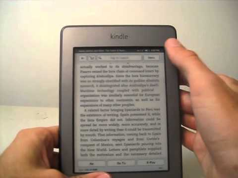 Playing MP3s, Audiobooks, and Text-toSpeech on the Kindle Touch