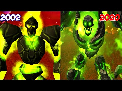 Warcraft III Reforged: Burning Legion Demons Comparison (2002 VS 2020) Plus Archimonde & Kil'Jaeden