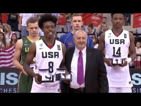 Collin Sexton - 2016 FIBA U17 World Championships - MVP