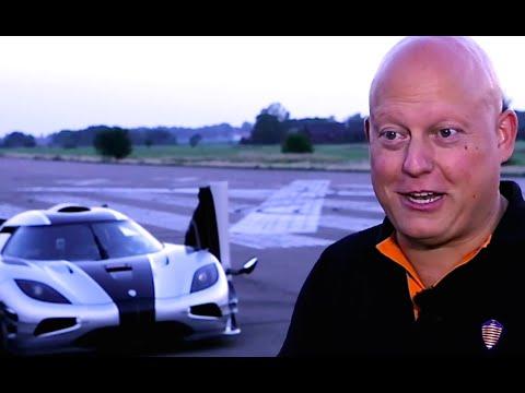 Christian von Koenigsegg interview Koenigsegg One:1 New Volvo Truck Commercial 2014 CARJAM TV ...