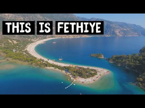 FETHIYE - Turkey's GHOST town, tombs & a BLUE lagoon