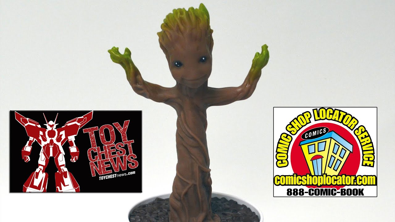 Electronic Dancing Baby Groot Figure Youtube