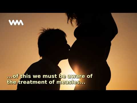 Measles treatment in pregnancy