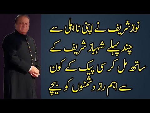 The Important Role of Nawaz Sharif in CPEC Along China