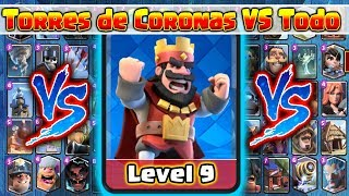 Torre de Coronas VS Todas las Cartas // Clash Royale