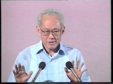 Lee Kuan Yew Last National Day Speech (1990) - Part 7
