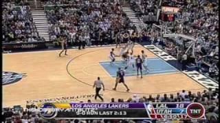 Kobe Bryant Throws Temper Tantrum Vs Utah Jazz March 20 2008