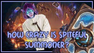 Hearthstone: How crazy is spiteful summoner? (midrange hunter)