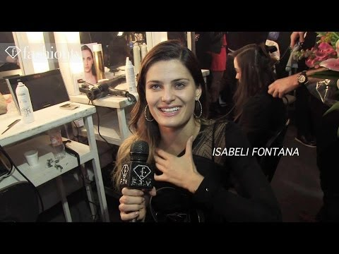 Tufi Duek Fall/Winter 2014 BACKSTAGE ft Isabeli Fontana | Sao Paulo Fashion Week SPFW | FashionTV