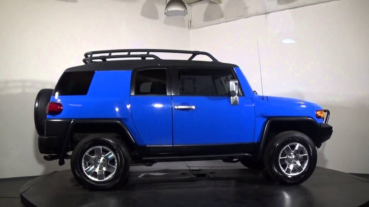 2007 fj cruiser blue 075960  YouTube