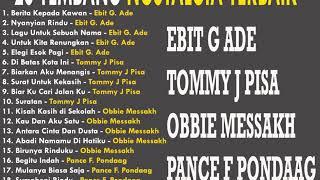 Gambar cover 20 Tembang Kenangan Terlaris Sepanjang Masa (ebit G ade,Tommy J pisa,Obbie,Pance )