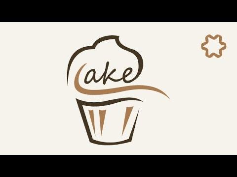 logo design illustrator tutorial cake logo design tutorial for