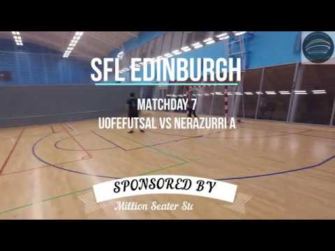 SFL Edinburgh League - UofEFutsal vs Nerazzuri A