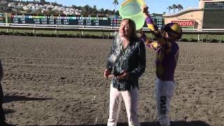 Bo Derek ALS Ice Bucket Challenge 8.23.14