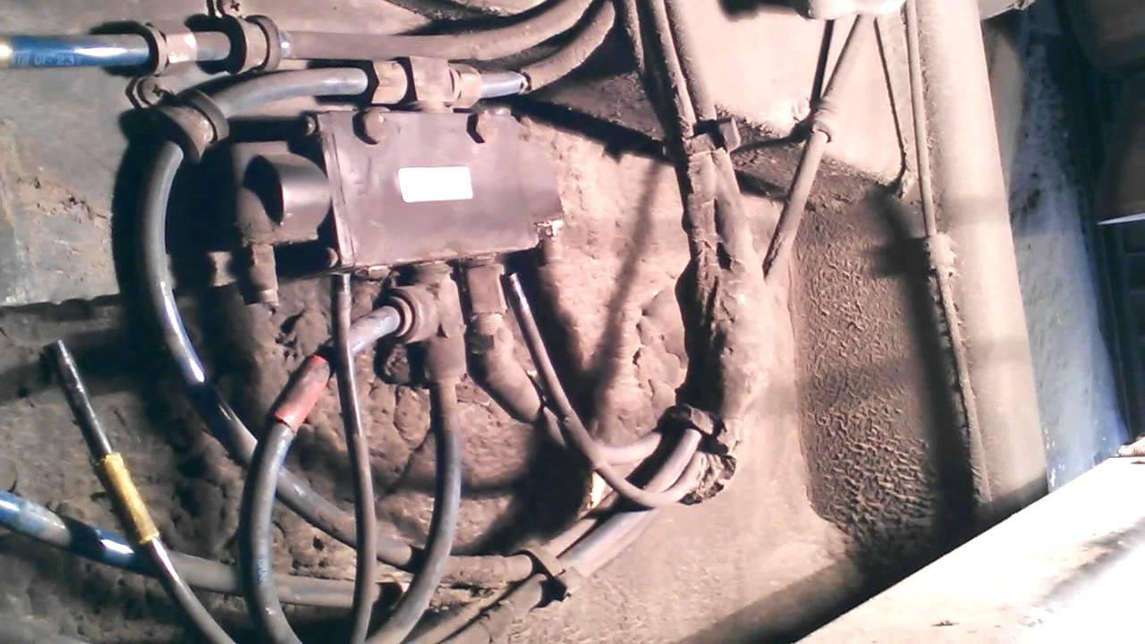 Bus Repair    leaking air valve!
