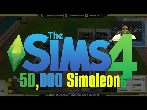 "The Sims 4 ""Motherlode"" Cheat -How To Get 50,000 Simoleons Instantly"