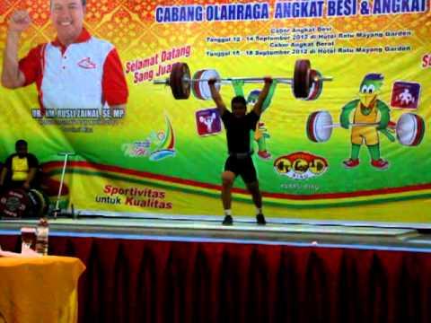 Cabang Olahraga Anggkat Berat/ Angkat Besi PON XVIII 2012 ...