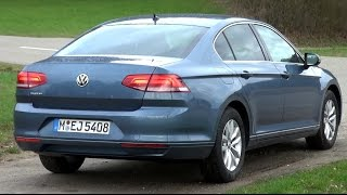 2015 VW Passat B8 1.4 TSI (150 HP) Test Drive