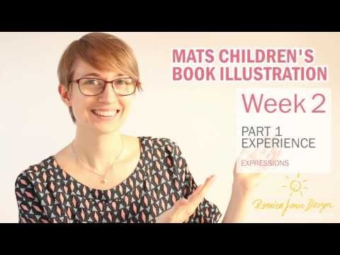 WK 2 Part 1 MATS Illustrating Children's Books Course review and experience - by Romica Spiegl Jones