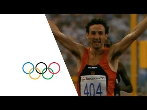 Athletics Gold for Carl Lewis & Fermín Cacho | Official Olympic Films