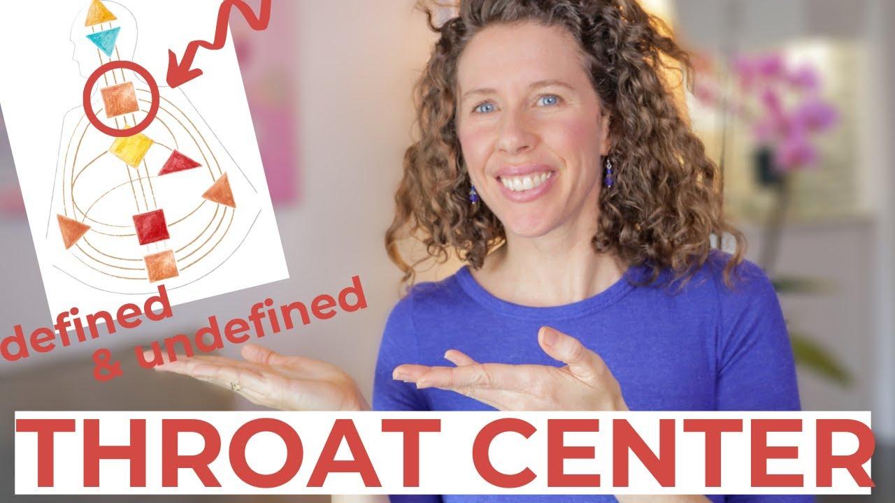 The THROAT CENTER in Human Design // Understand the Defined and Undefined Throat Center