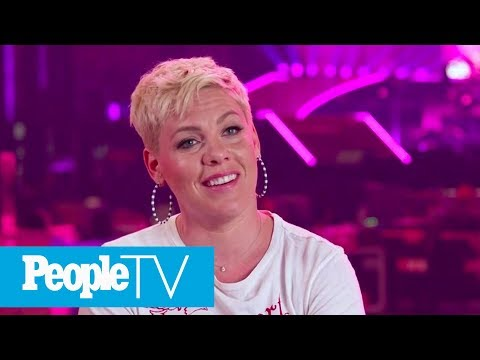 Pink's Advice For Raising Strong Kids: 'I'm A Truth-Teller' | PeopleTV