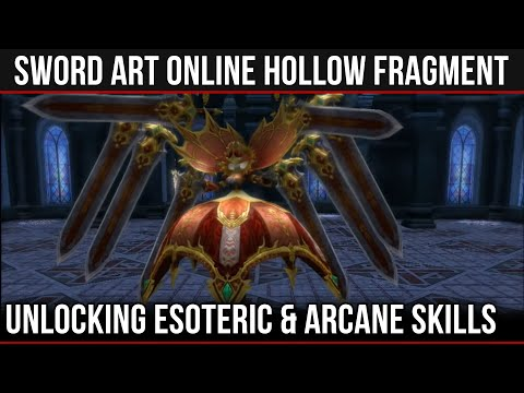 Taking Down The Esoteric / Arcane Boss in SAO: Hollow Fragment